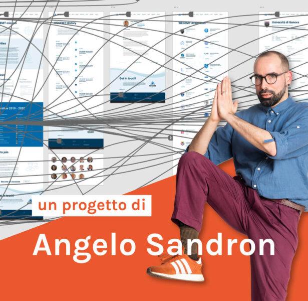 Angelo Sandron Wegemt progetto web design