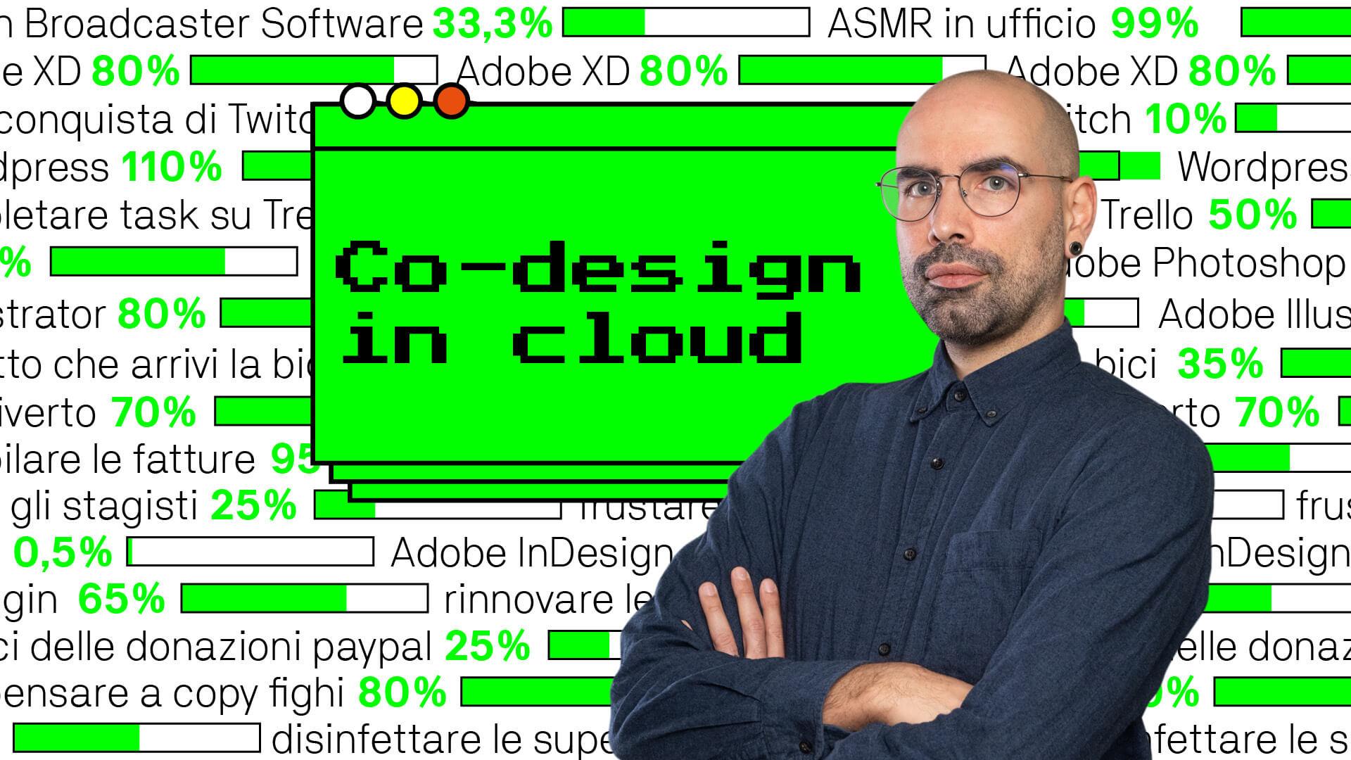 Co-design in cloud / Design in pixel