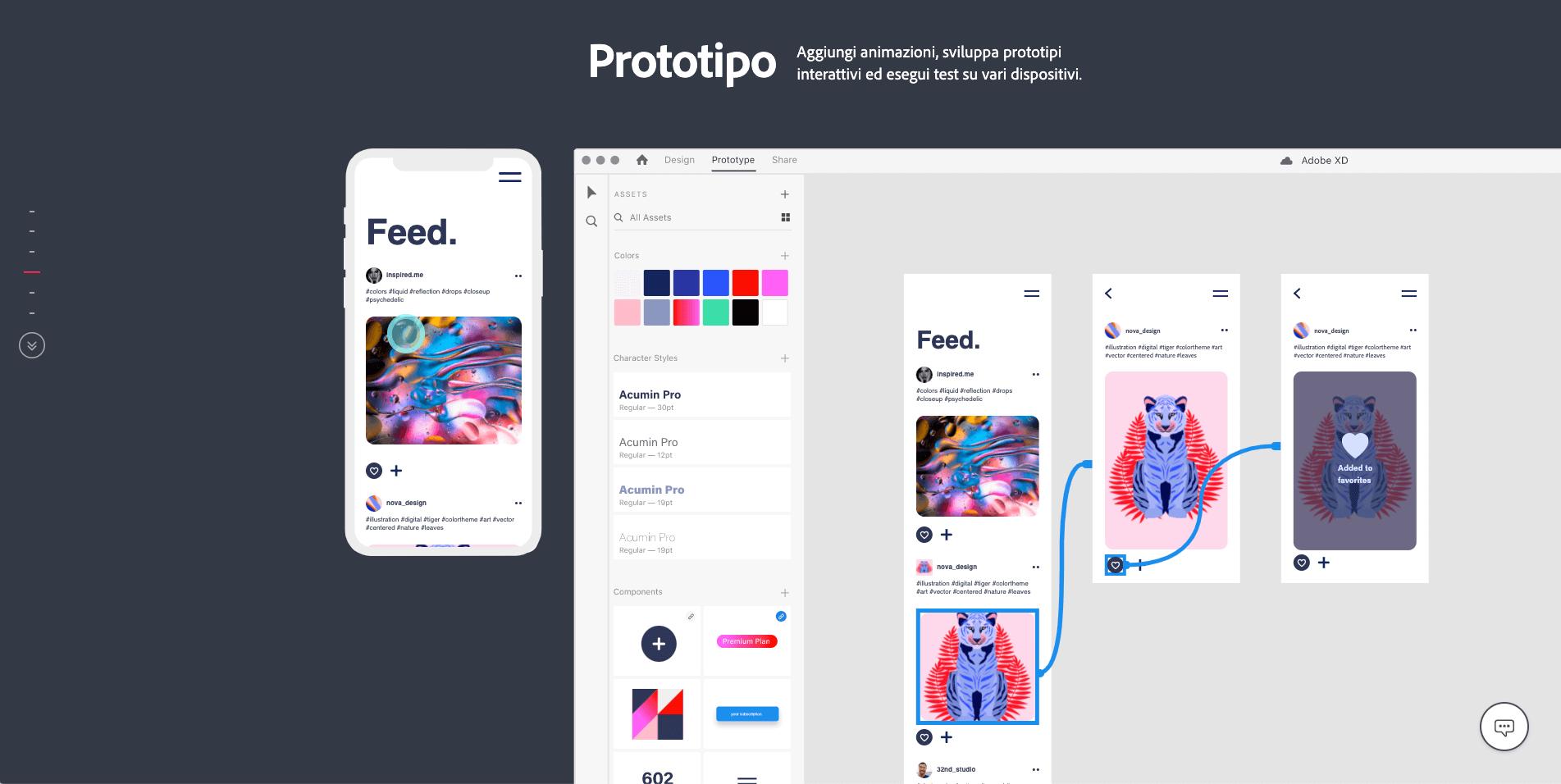 Adobe XD - Co-design prototipo
