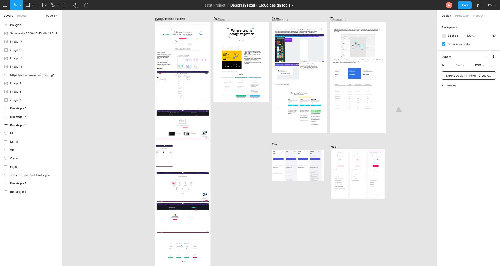 Figma - Co-design interfaccia